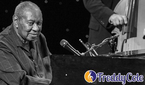 Penampilan Freddy Cole di Festival Jazz Chicago